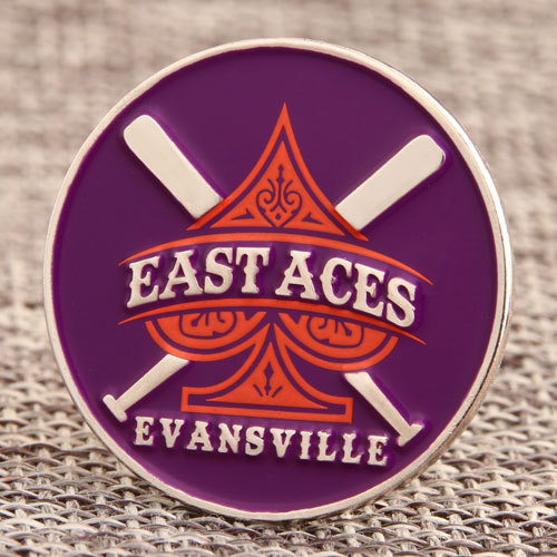 East Aces Baseball Pins