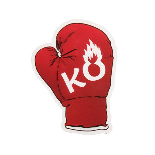 Boxing Glove Custom Stickers
