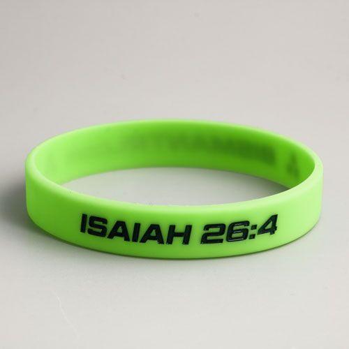 ISAIAH 26:4 Wristbands