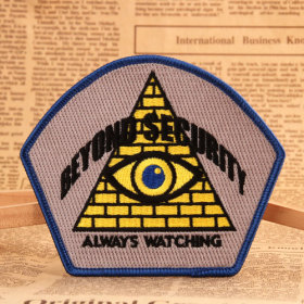Kept The Eyes Open Make Custom Patches