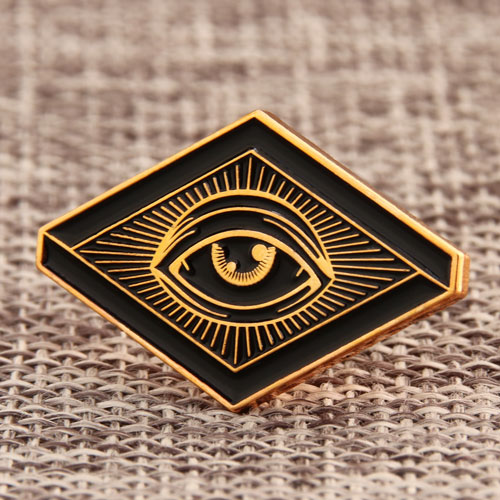 eyes custom hat pins