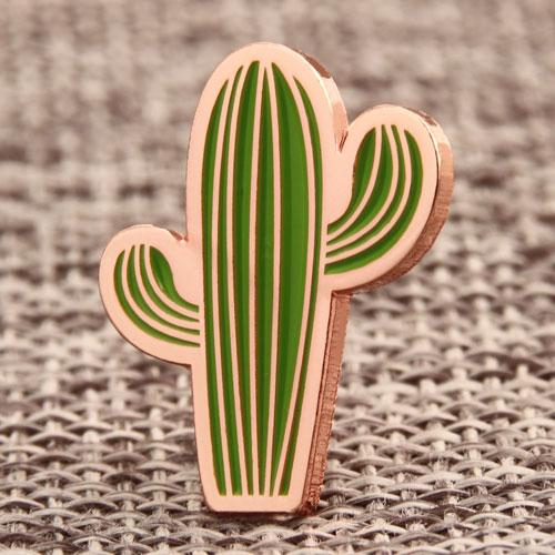 cactus custom hat pins