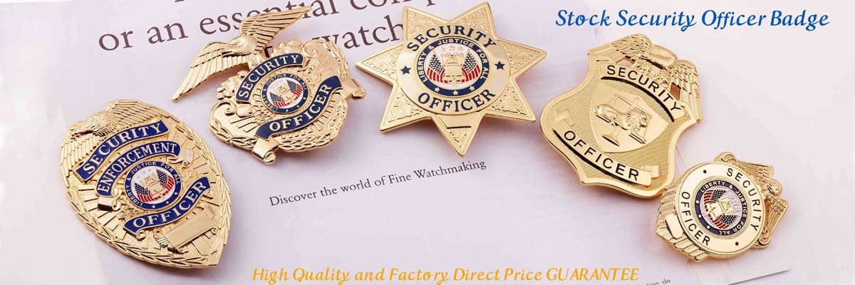 stock security officer badge