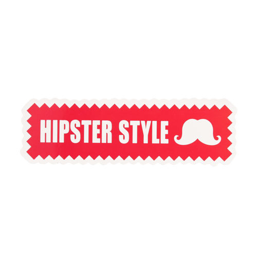 Hipster Style Custom Stickers