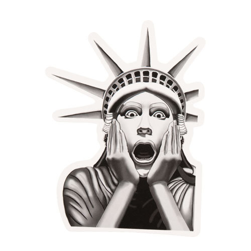 Statue Of Liberty Custom Stickers