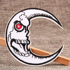 Angry Moon Custom Patches Online