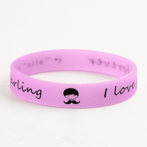 I love you forever wristbands