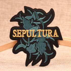 SEPULTURA Custom Iron on Patches
