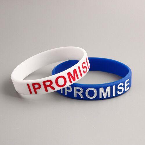 I promise wristbands