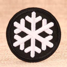 Snowflake Custom Patches No Minimum