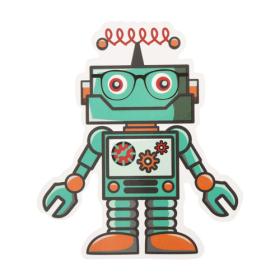 Robot Custom Stickers
