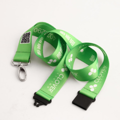 Clover Green Dye-sublimated Lanyards