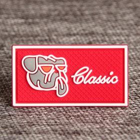 Dog Classic PVC Label