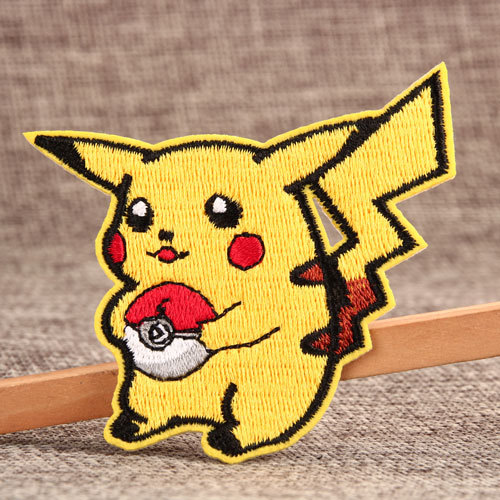 Pikachu Custom Embroidered Patches