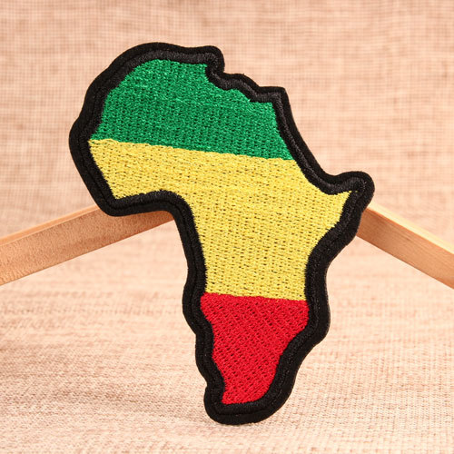 Brazil Custom Embroidered Patches