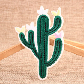The Cactus Embroidered Patches