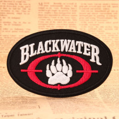 Black Water Custom Made Patches