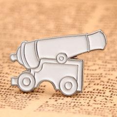 Cannon Custom Lapel Pins