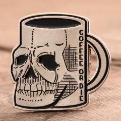 Skull Cap Enamel Pins