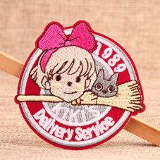 KIKI's Custom Embroidered Patches