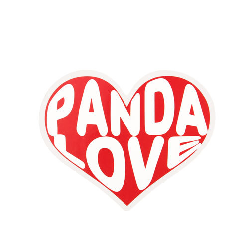 Panda Love Custom Stickers