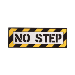 No Step Custom Stickers