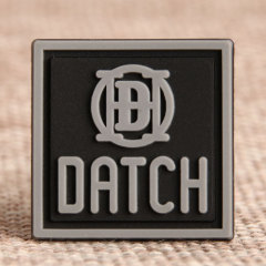 Grey Datch PVC Patches