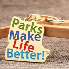 City Parks Custom Keychains