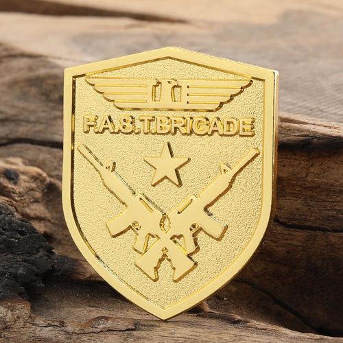 F.A.S.T.BRIGADE Custom Pins
