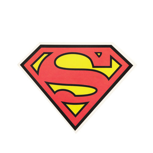 Superman Logo Clear stickers
