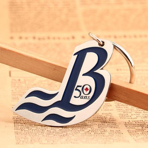 B50 Ans Custom Keychains