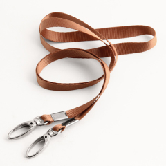 Grey Narrow Customize Lanyards