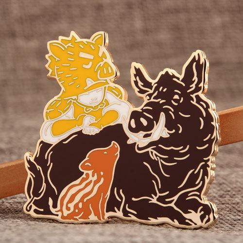 Wild Boar Custom Pins