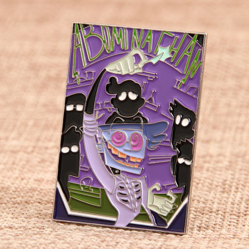 Comic Pin Design