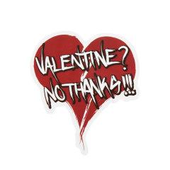 Bad Valentine Custom Stickers