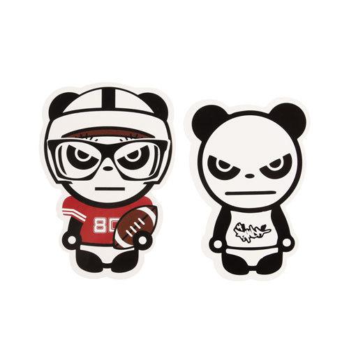 Panda Custom Stickers