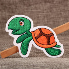 Sea Turtle Embroidered Patches