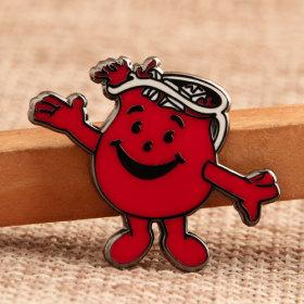 Cup Boy Custom Enamel Pins