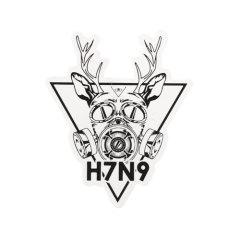 H7N9 Custom Stickers
