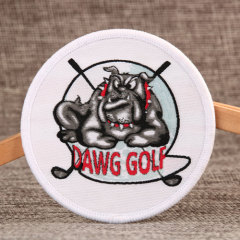 Custom Embroidered Patches for Dog