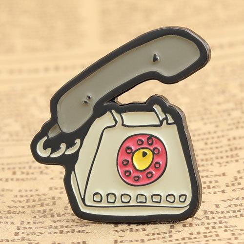 Antique Telephone Lapel Pins