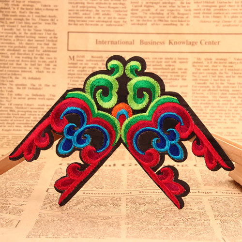 Swallow Shape Embroidered Patches