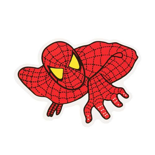 The Spider Man Custom Stickers