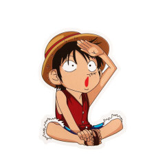 Monkey D Luffy Custom Stickers