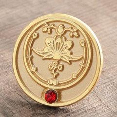 Lotus Custom Enamel Pins