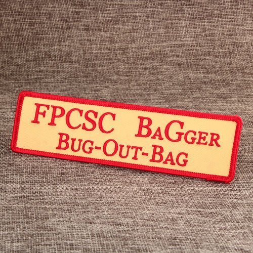 FPCSC BAGGER BUG-OUT-BAG Custom Patches