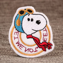 Cool Snoopy Custom Patches