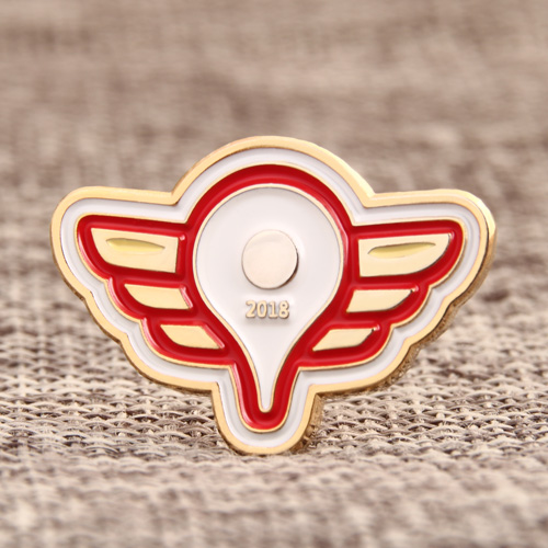 2018 Wings Soft Enamel Pins
