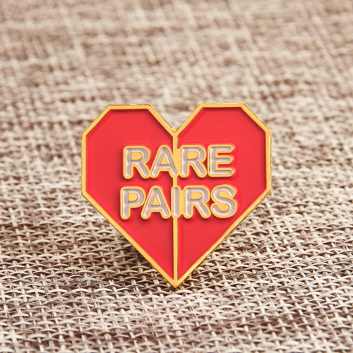 Rare pairs soft enamel pins
