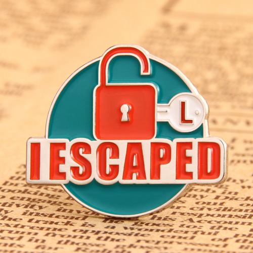 IESCAPED Soft Enamel Pins